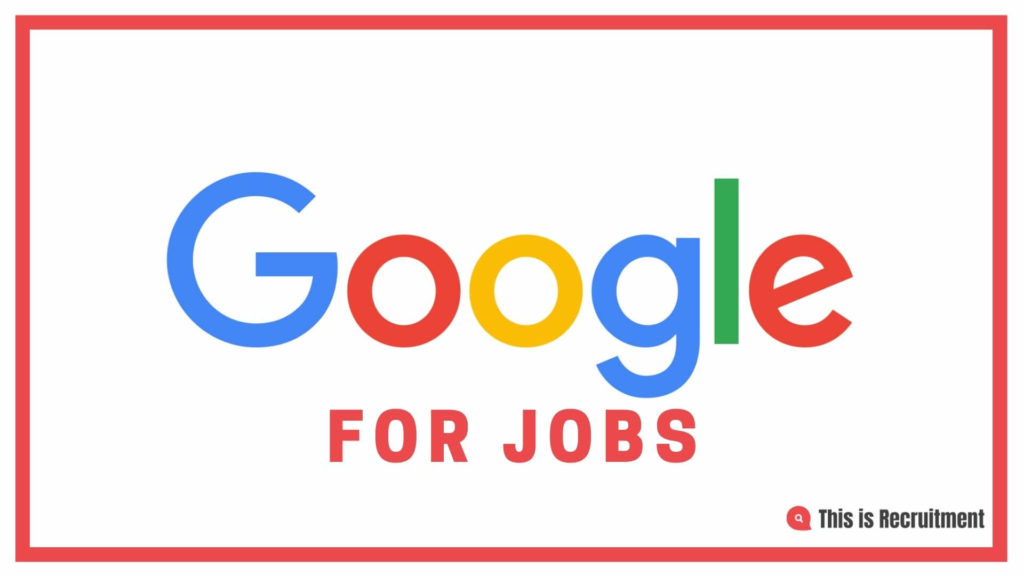 Google for jobs Titelbild